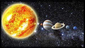 Ordre des planètes du système solaire sans Pluton