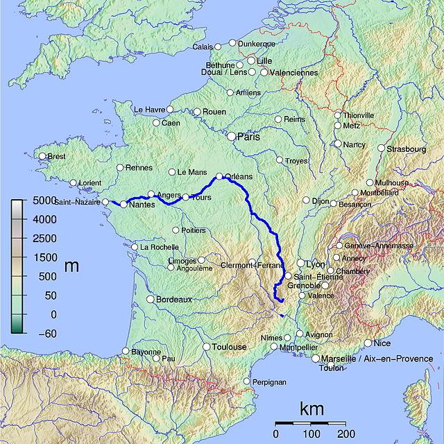 Le fleuve de la Loire