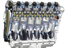 Moteur 6 cylindres en ligne, BMW.