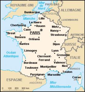 Pays limitrophes de la france - Quel est le nom le plus porte au monde ...