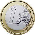 Une pièce de un euro