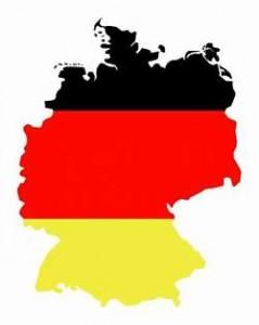 drapeau allemand fond de carte