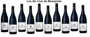 Les dix crus du Beaujolais