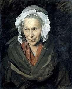 Monomane de l'envie, Géricault