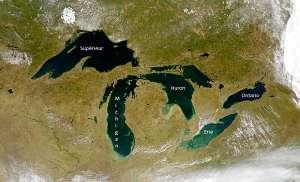 Grands lacs d'Amérique du Nord