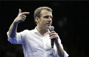 Emmanuel Macron en 2017.