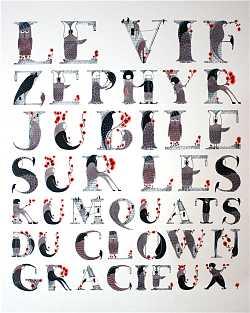 Pangramme Phrase Avec Toutes Les Lettres De L Alphabet