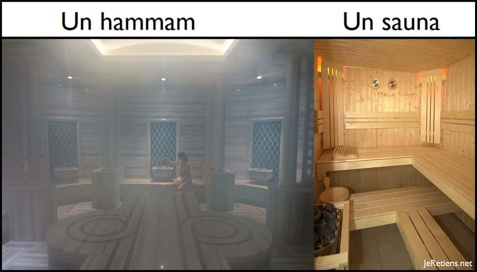 Quelle différence entre un hammam et un sauna ?