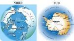 Arctique Nord Antarctique Sud