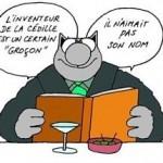 Le Chat, par Philippe Geluck.