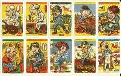 cartes du jeu des Sept Familles