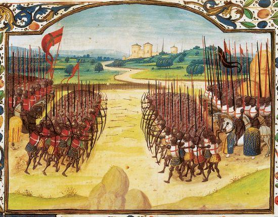 miniature_bataille_d_azincourt_1415_date_duree_guerre_cent_ans
