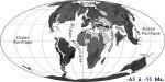 Le monde durant le Paléocène