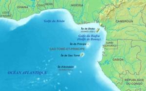 Le golfe de Guinée, dont fait partie le golfe du Bénin