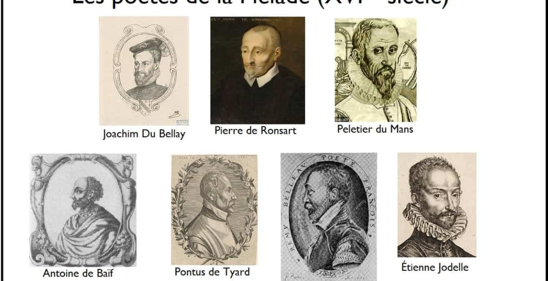 poètes_de_la_pléaiade_ronsart_du_bellay_baïf