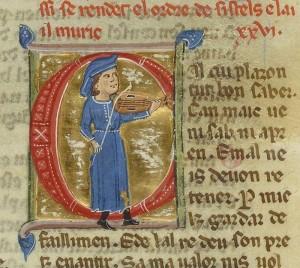 Perdigon, un troubadour