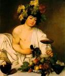 Bacchus par Le Caravage