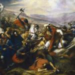 La Bataille de Poitiers peinte par Charles de Steuben en 1837.
