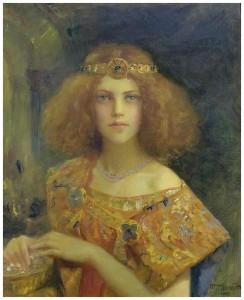 Gaston Bussière, Salammbô, 1907.