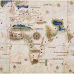 Le planisphère de Cantino, plus ancienne cartographie des découvertes Portugaises.