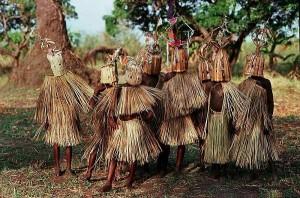 Rite initiatique des garçons Wayao au Malawi