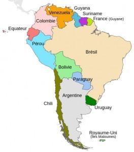 L'Amérique du Sud
