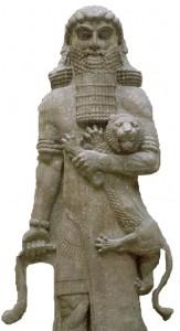 Bas-relief du palais de Sargon, conservé au musée du Louvre.