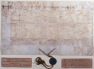Une bulle papale rédigée par le pape Urbain VIII en 1637/