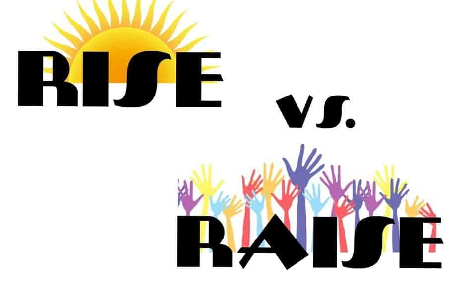 rise_raise_difference_between_entre_verbes