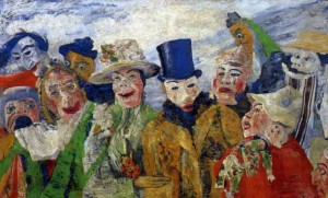 L'Intrigue de James Ensor, peint en 1890.