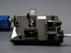 Un interféromètre de Michelson.