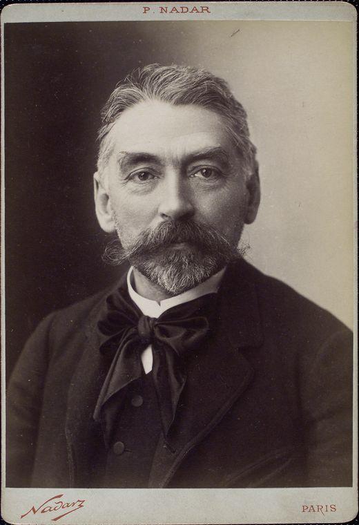 Photo de Stéphane Mallarmé, Nadar