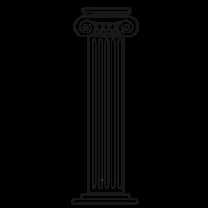 Il était temps d'apprécier une belle colonne.