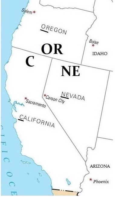 usa_côte_ouest_états_californie_oregon_nevada