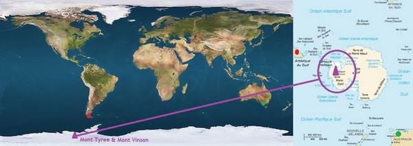 antarctique_mont_vinson_4 892_ mètres_mont_Tyree_4 852_mètres