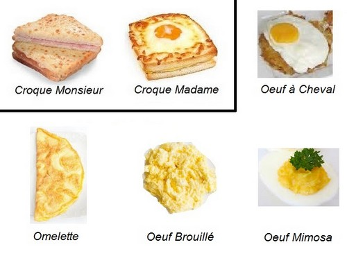 croque_monsieur_madame_omelette_oeuf_mimosa_brouillé_à_cheval