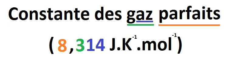 Constante des gaz parfaits | JeRetiens - Trucs ...