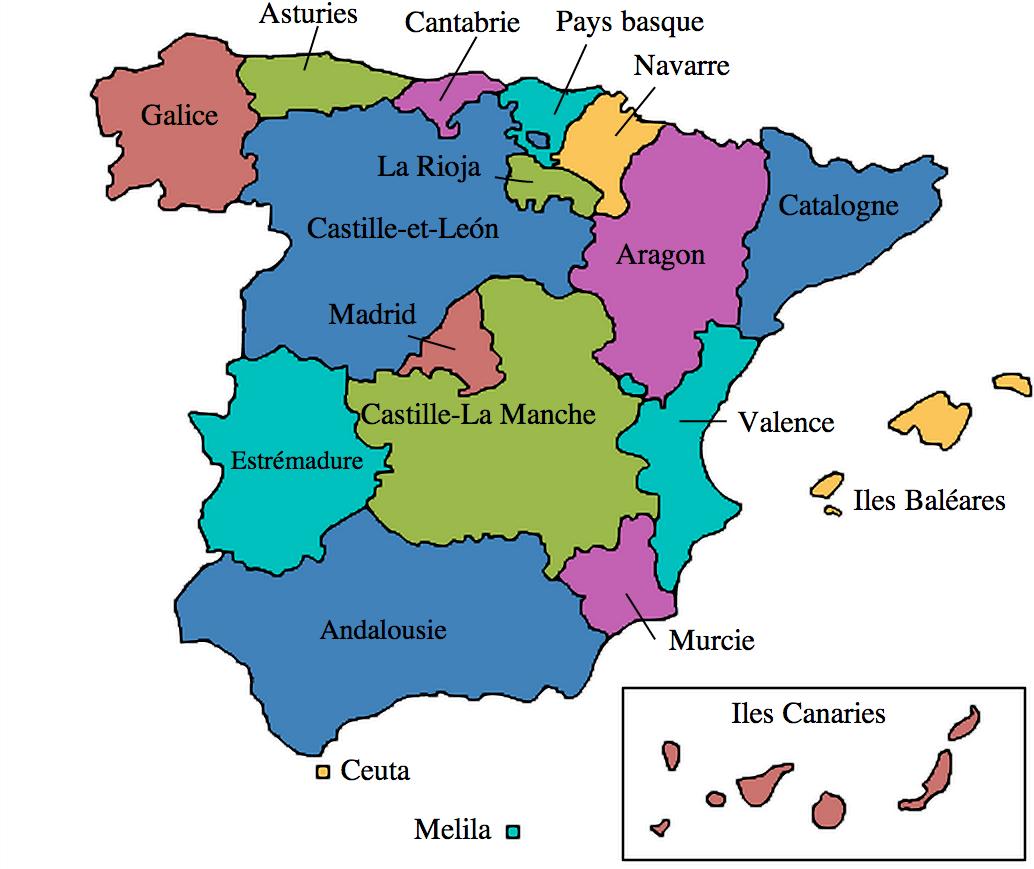 Espagne_17_communautés_autonomes_trois_bateaux_christophe_colomb