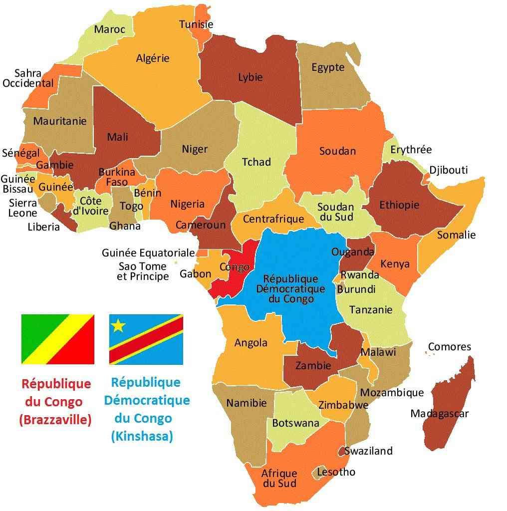 """Résultat de recherche d'images pour """"RD Congo - Congo-Brazzaville"""""""