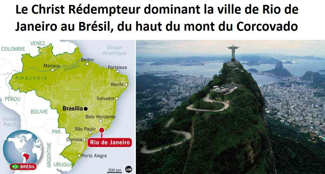 Brésil_rio_de_janeiro_christ_rédempteur_mont_corcovado