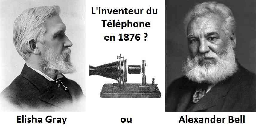 inventeur_téléphone_Alexander_Bell_Elisha_gray_1876