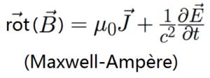 équation de Maxwell-Ampère