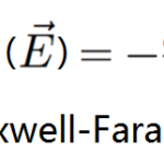 équation de maxwell-faraday