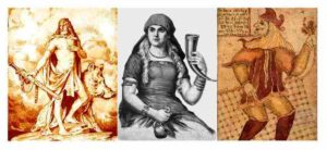 figurent mythologiques importantes
