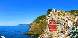 View of Riomaggiore Cinque Terre