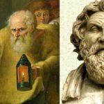 Diogène et Antisthène