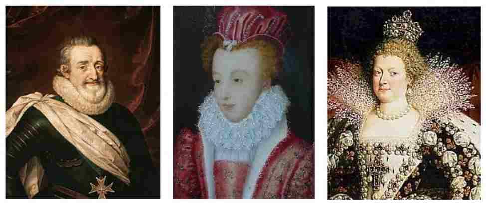 Les femmes d'Henri IV
