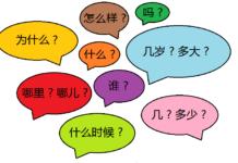 les questions en chinois