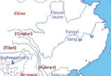 Carte d'Asie du Sud-Est