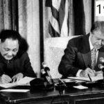 Deng Xiaoping avec Jimmy Carter en 1979